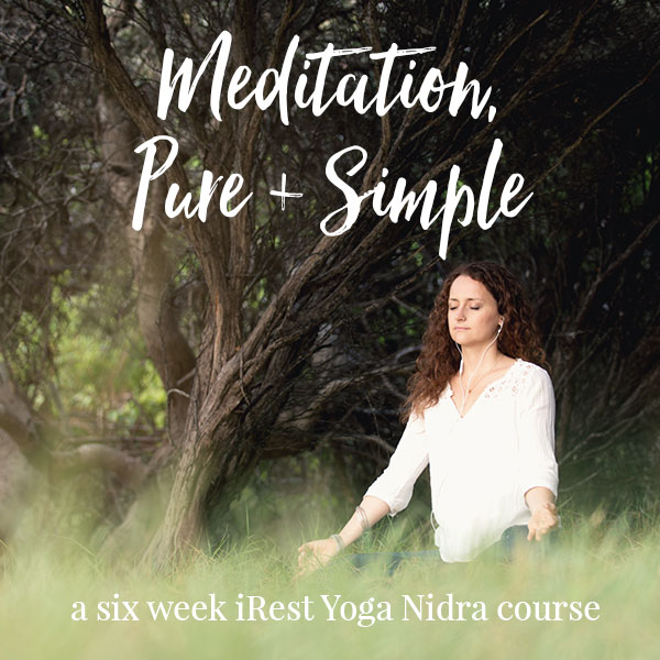 Meditation, Pure + Simple