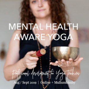 Mental Health Aware Yoga