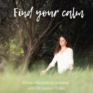 Meditation webinar